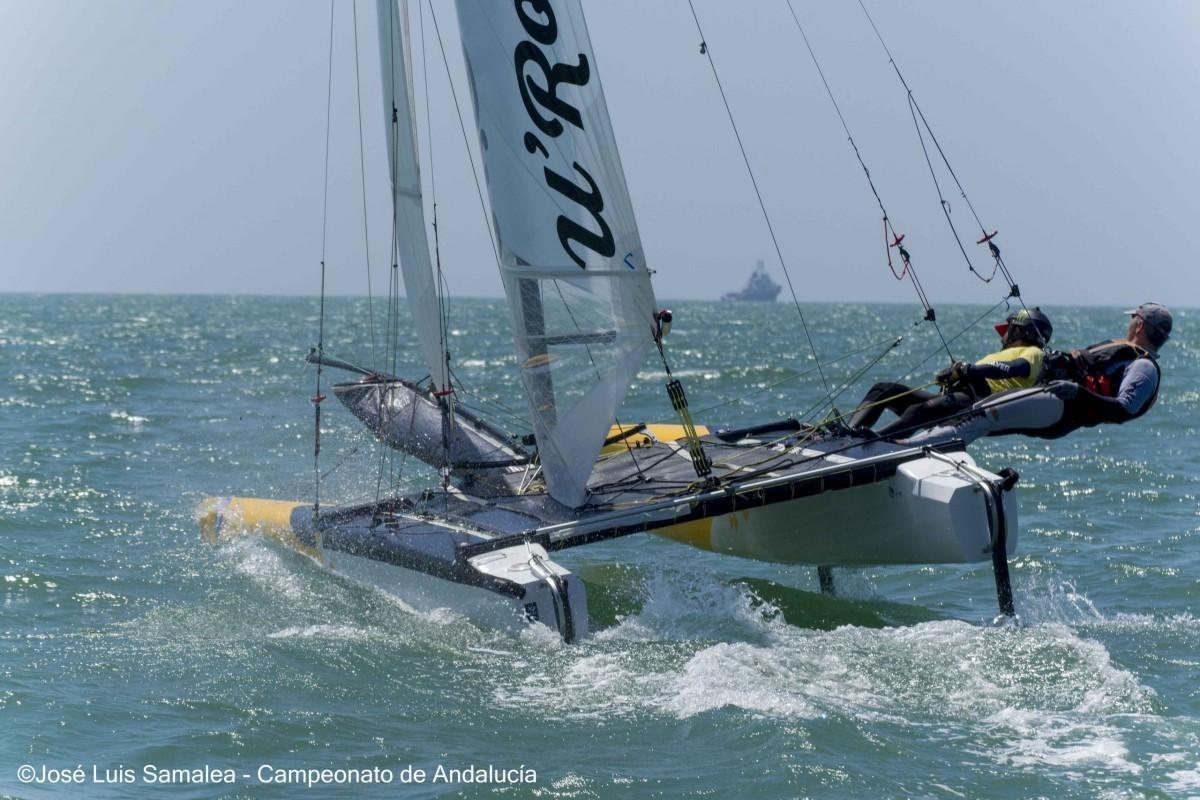 La Campeonato de España de Catamarán en Pobla Marina