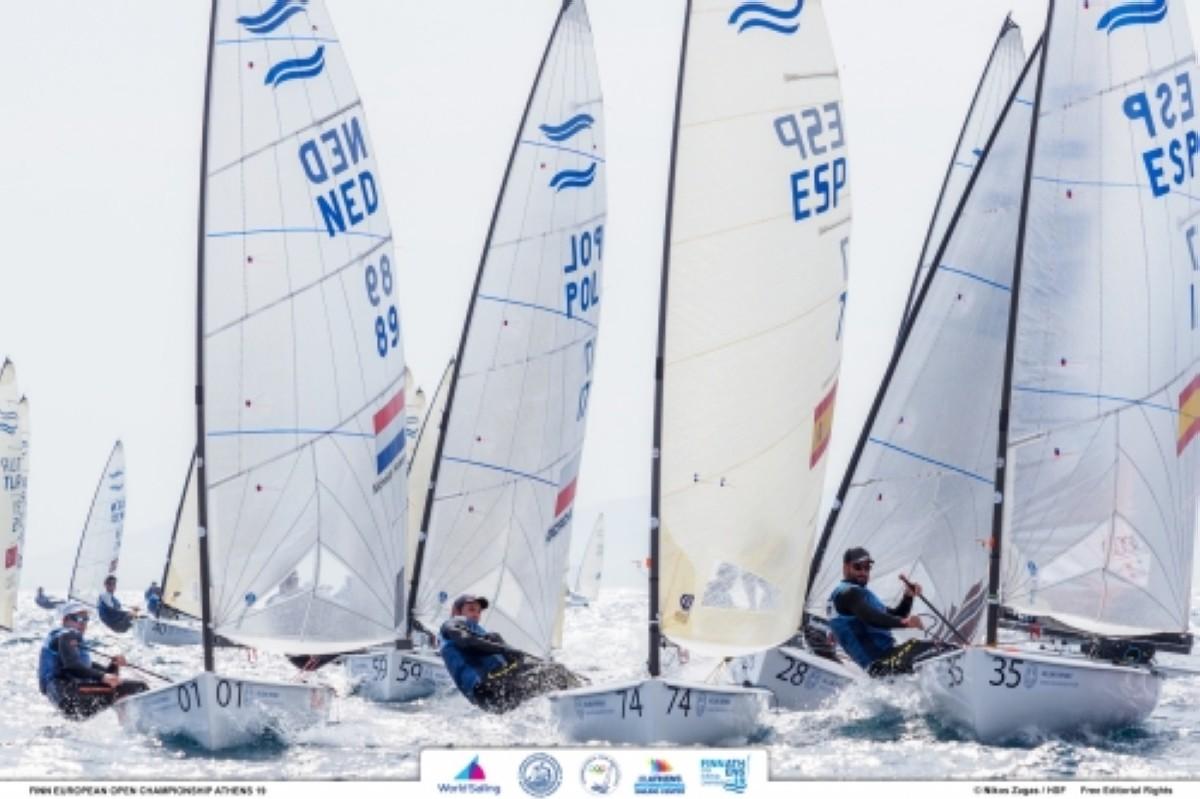 La cuarta jornada del Campeonato de Europa de Finn