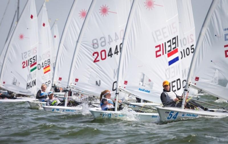 La Delta Lloyd Regata en aguas holandesas