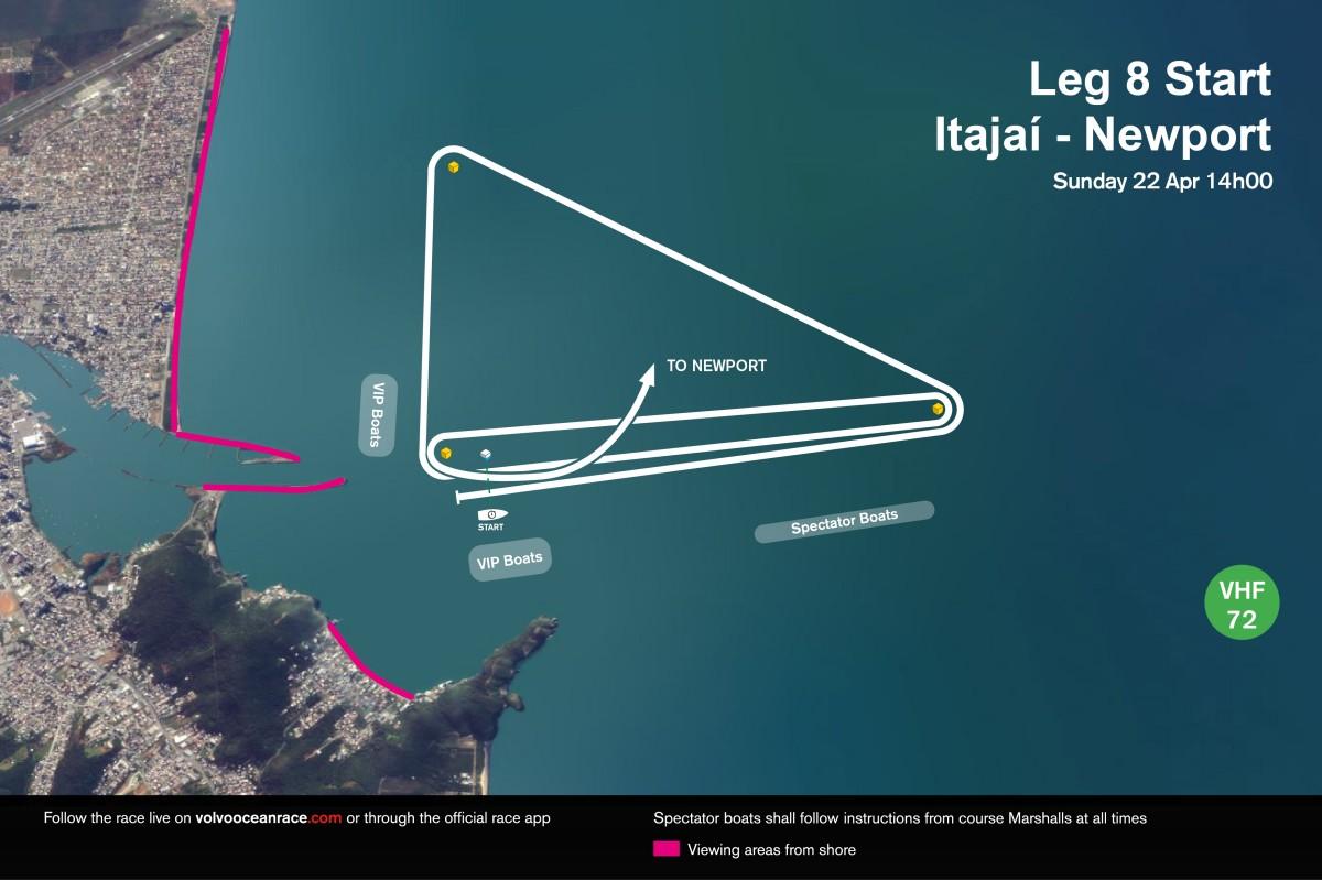 La escala brasileña de la Volvo Ocean Race