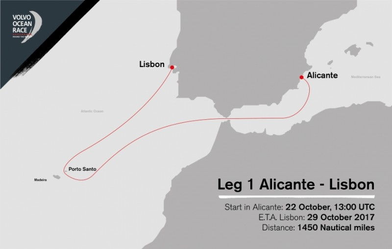 La Etapa 1 de la Volvo Ocean Race pasará por Porto Santo