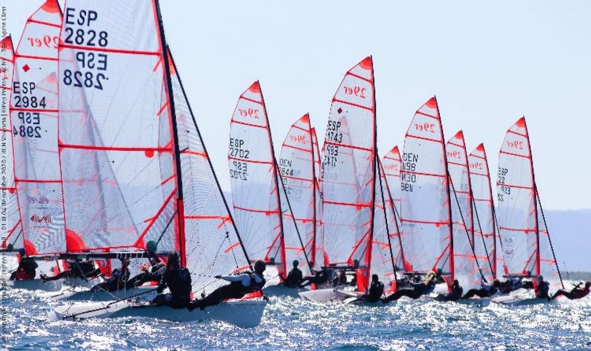 La flota 29er protagonista en las principales regatas nacionales.