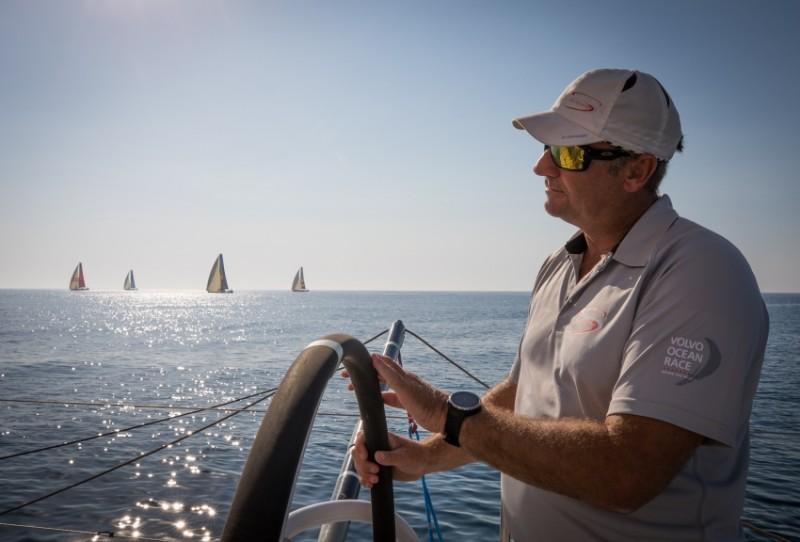 La flota de Volvo Ocean Race se dirige hacia Alicante
