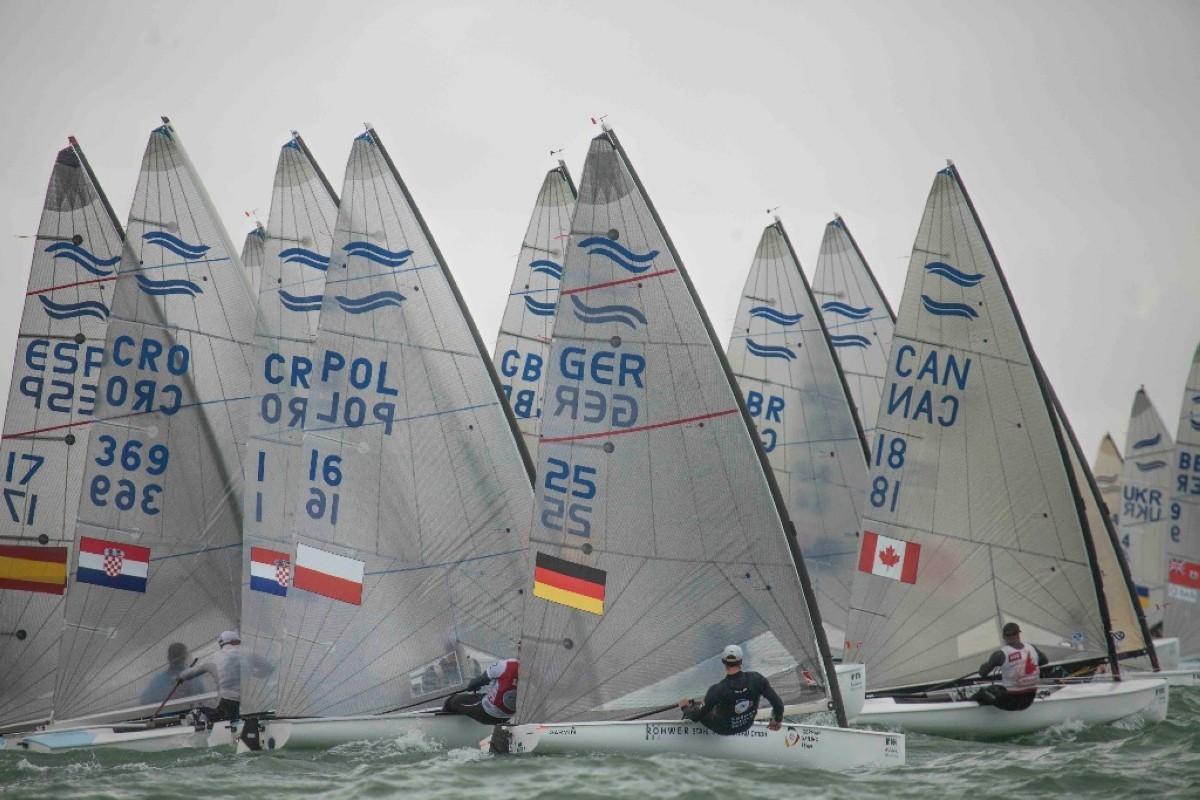 La III jornada del Campeonato de Europa de Finn