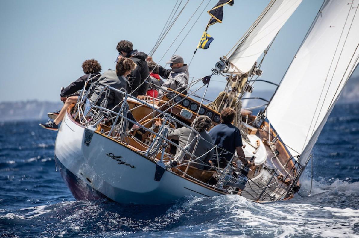 La Illes Balears Clàssics de barcos de época en agosto