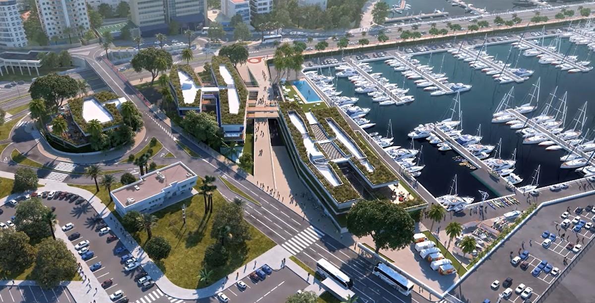 La obra marítima del Club de Mar Mallorca tiene luz verde