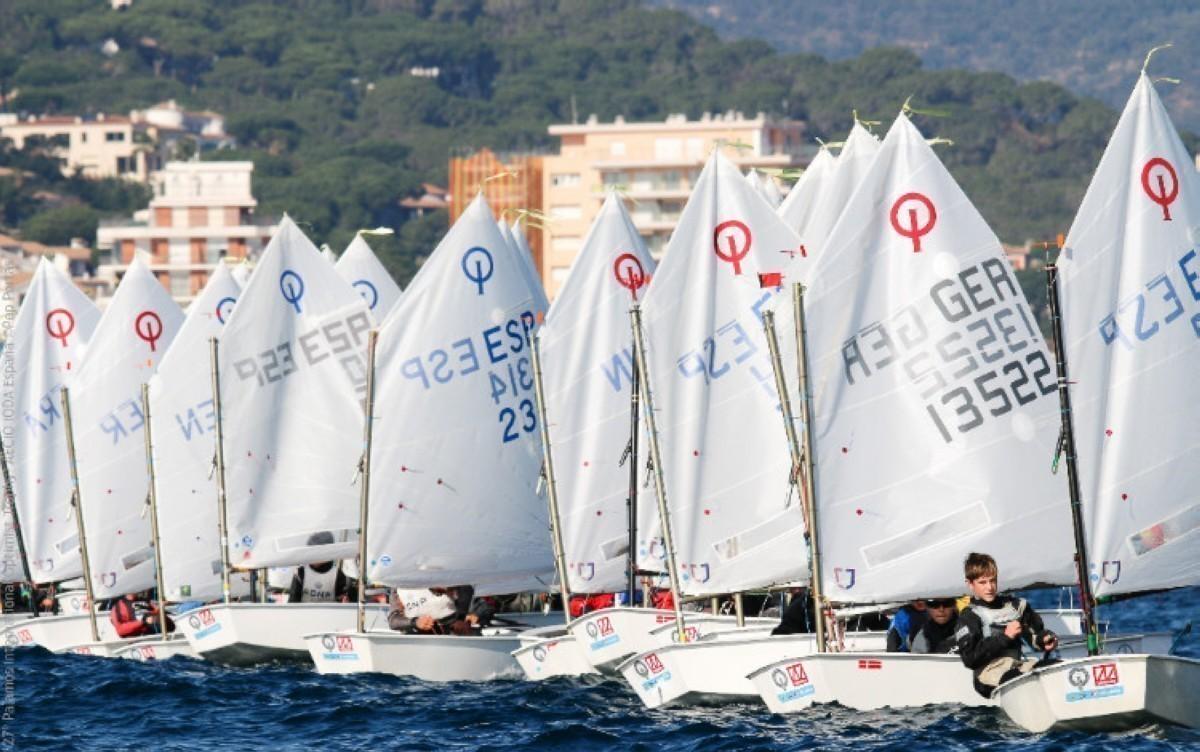 La Optimist Excellence Cup 2019 en el Puerto Sta Maria