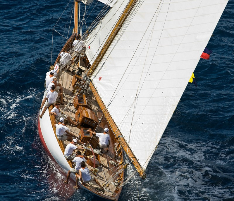 La primera edición de la regata Vela Clásica Costa Brava