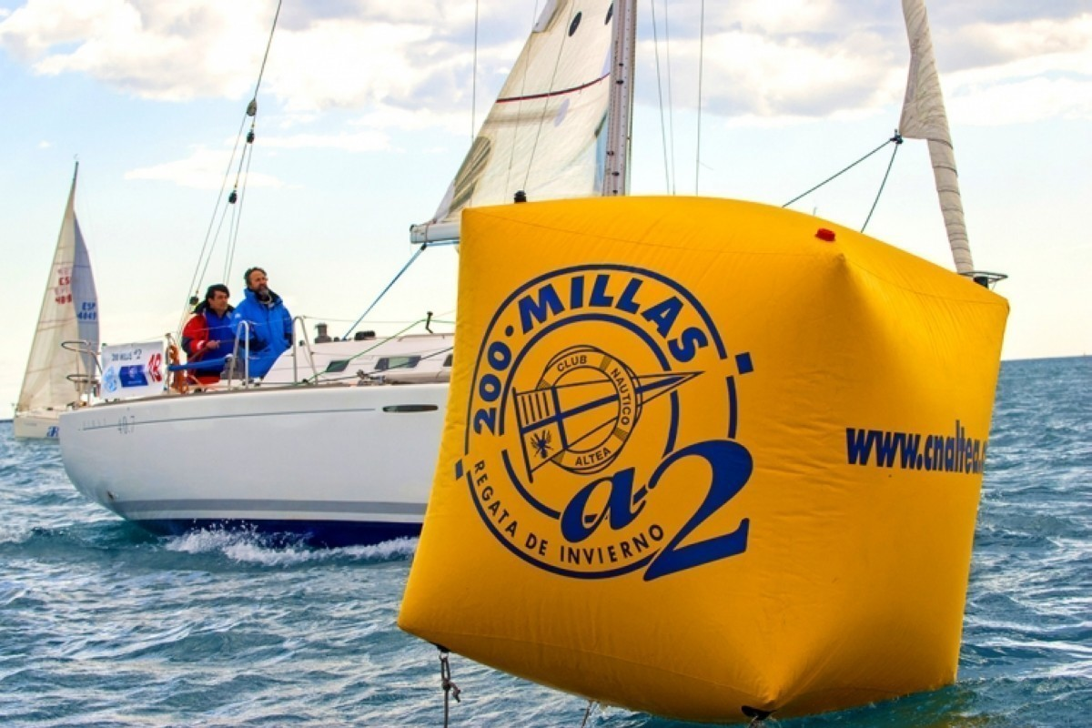 La regata 200 Millas A2 los días 5,6 y 7 de marzo
