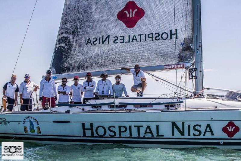 La regata de Invierno de Cruceros Bahía Huelva 525