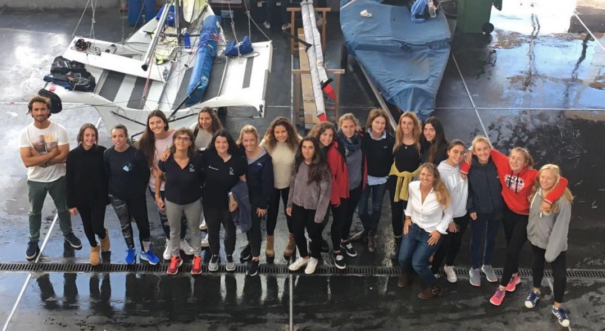 La RFEV apuesta por la vela femenina