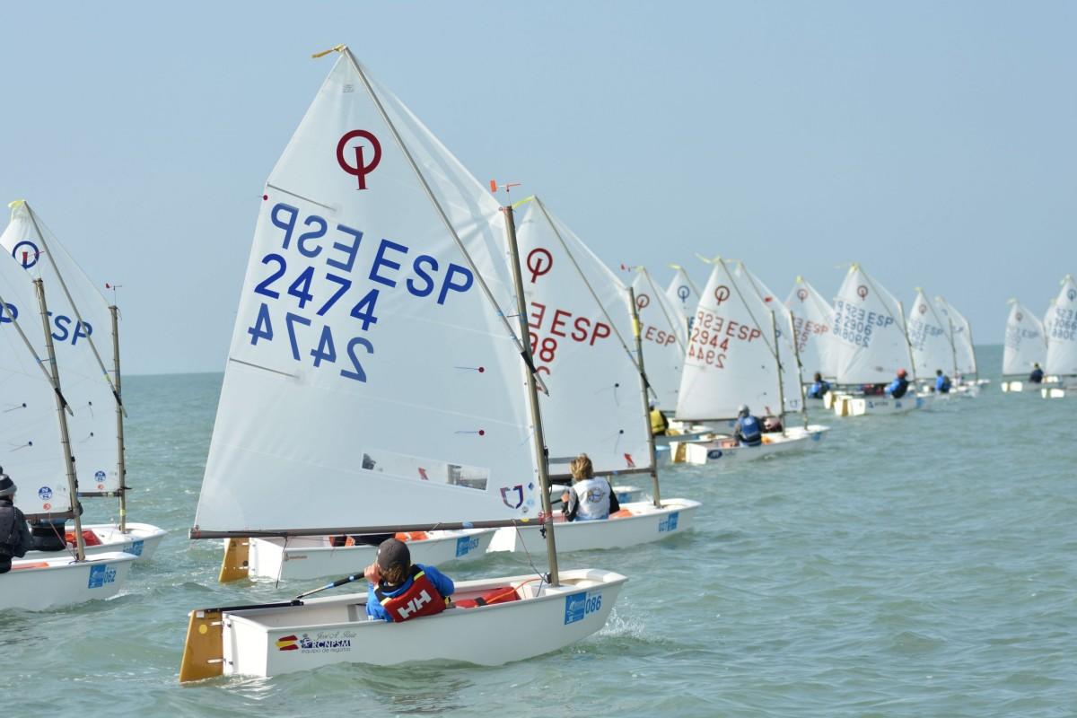 La RFEV asigna las plazas para el Campeonato de Optimist