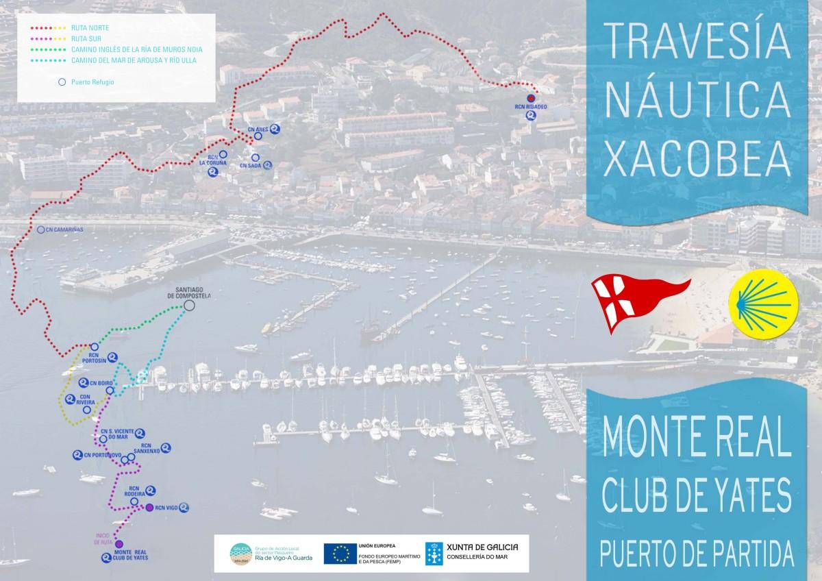 La Travesía Náutica Xacobea, el Camino de Santiago por mar