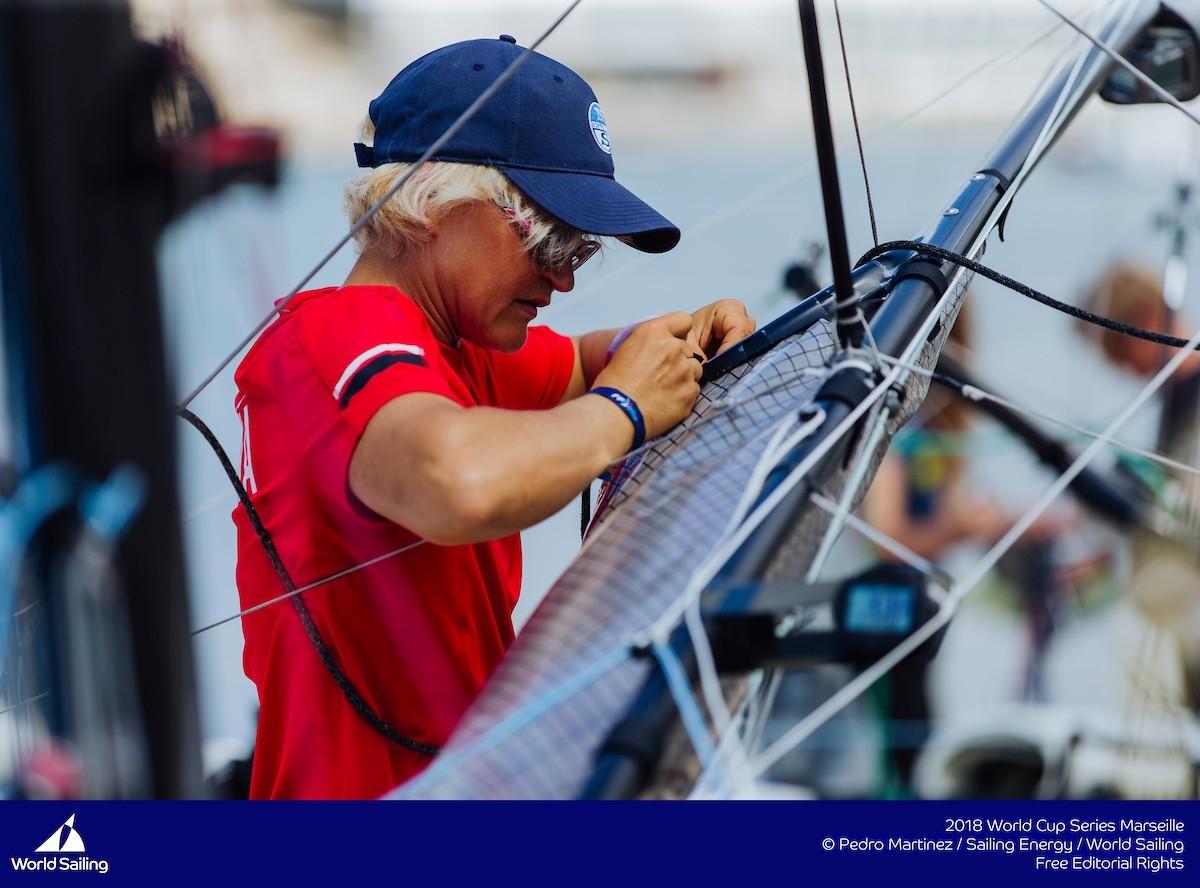 La última regata de la Copa del Mundo de la World Sailing