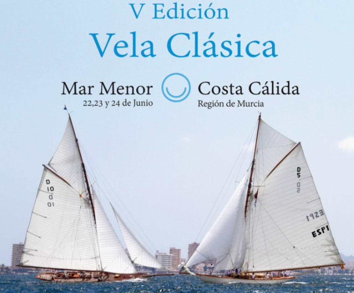 La V Edición de Vela Clásica Mar Menor con más de 40 embarcaciones
