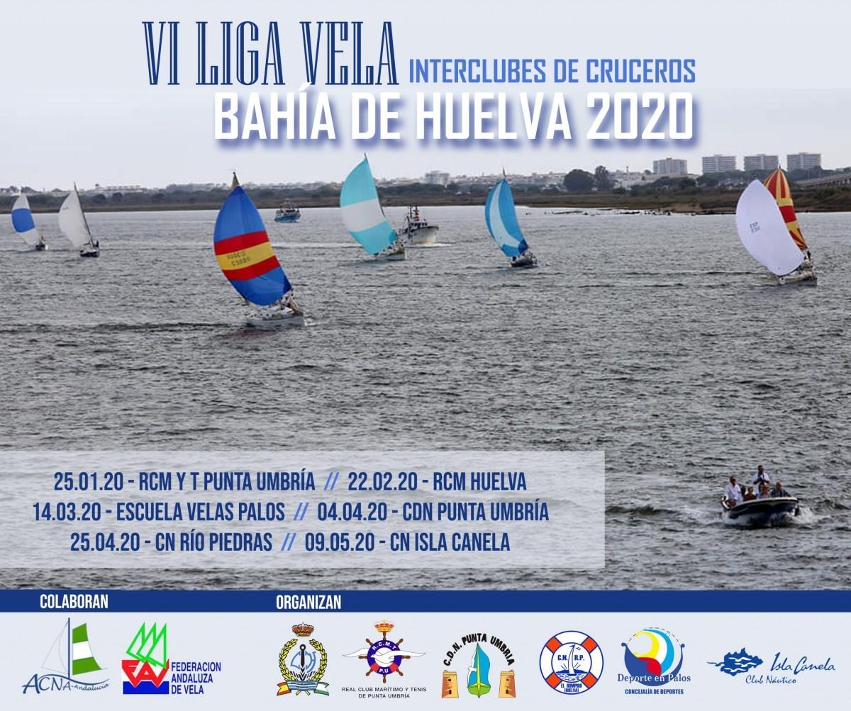 La VI Liga Interclubes bahía de Huelva celebrada