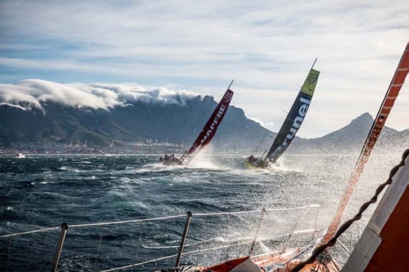 La Volvo Ocean Race 2017-18 cambia a una nueva fase