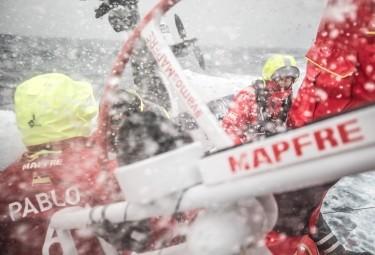 La Volvo Ocean Race está entrando en sus últimos días