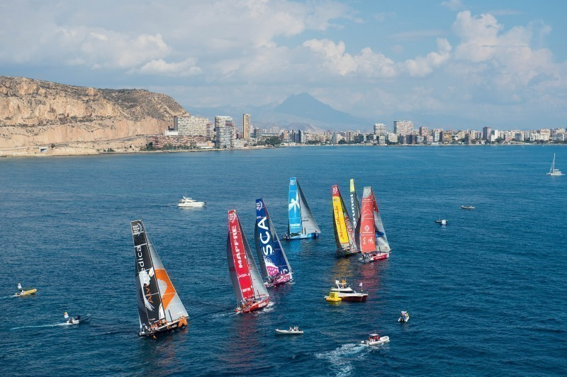 La Volvo Ocean Race saldrá de Alicante dos ediciones más