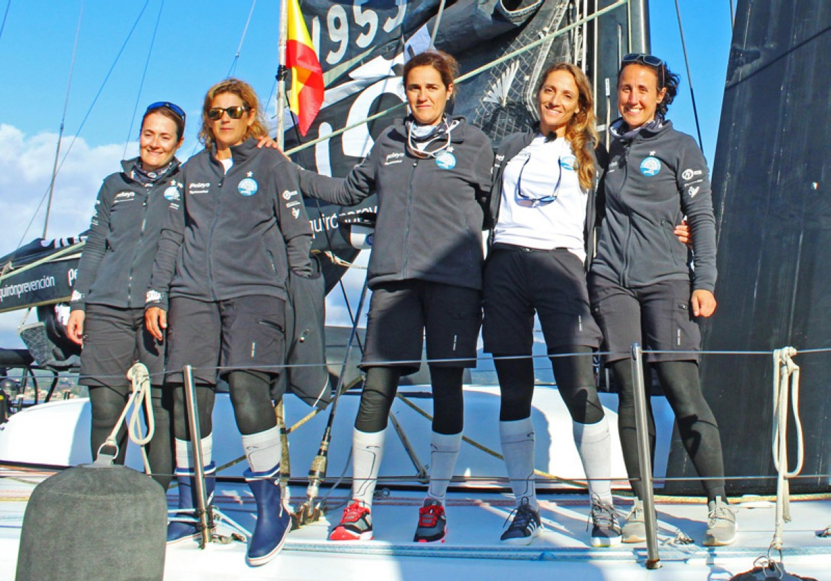 La Vuelta a España a vela contra el cáncer