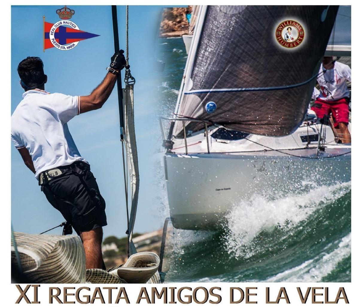 La XI Regata Amigos de la Vela en el Puerto de Santa María