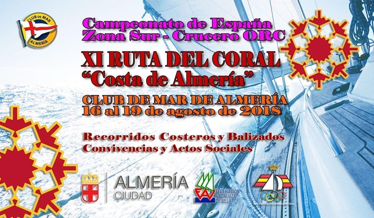 La XI Regata Ruta del Coral, Costa de Almería