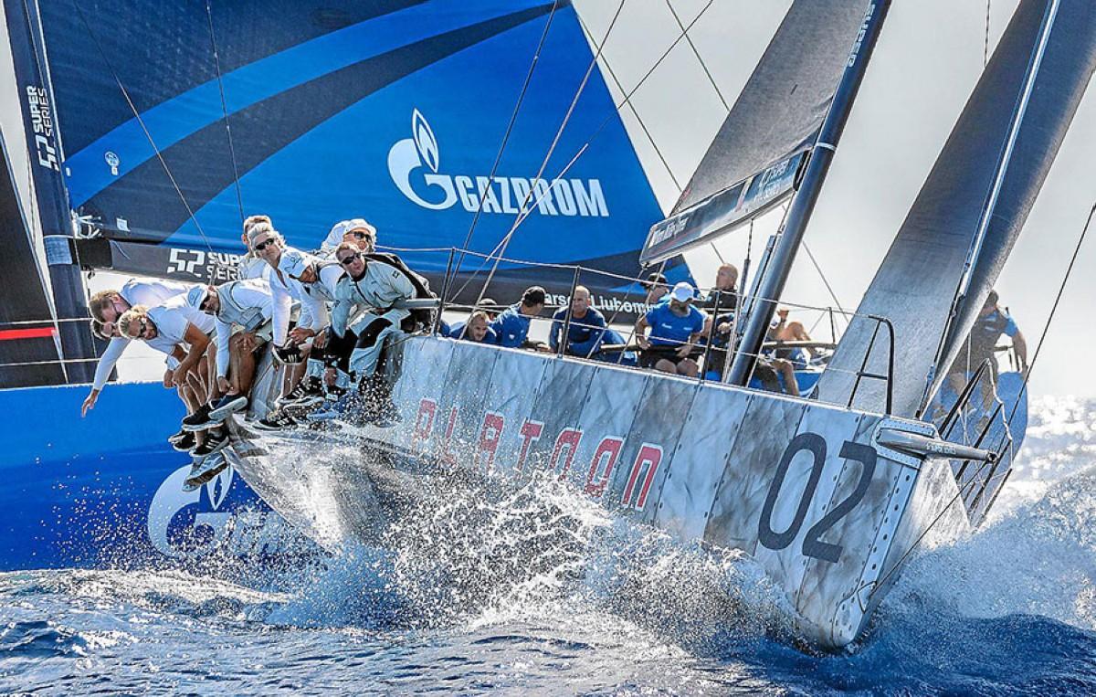 Las 52 SUPER Series Sailing Week para Platoon
