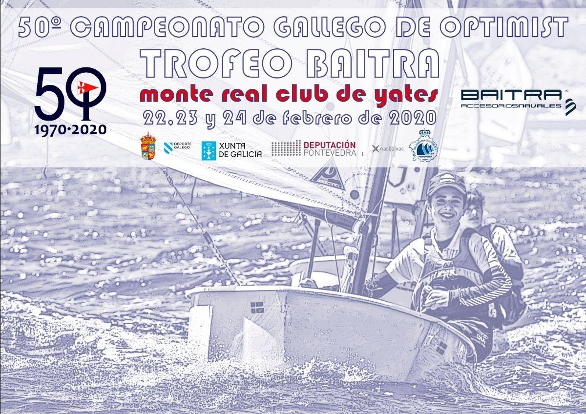 Las bodas de oro del Campeonato Gallego de Optimist