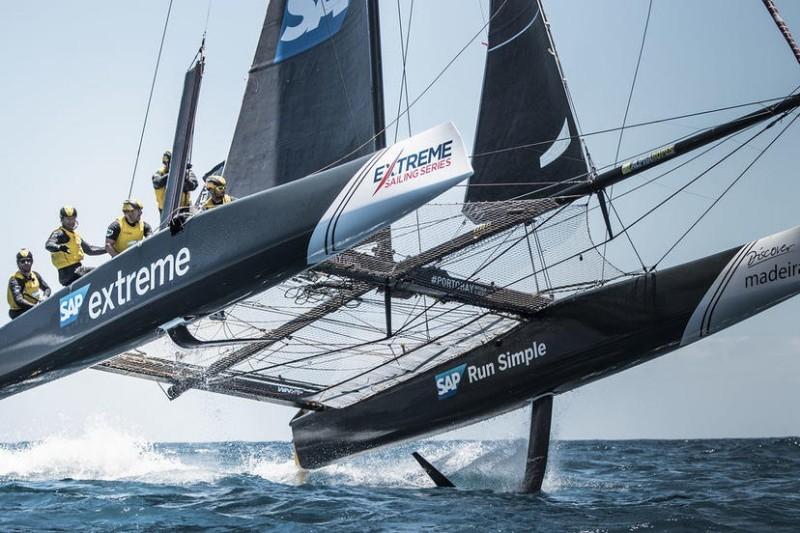 Las espectaculares Extreme Sailing Series™