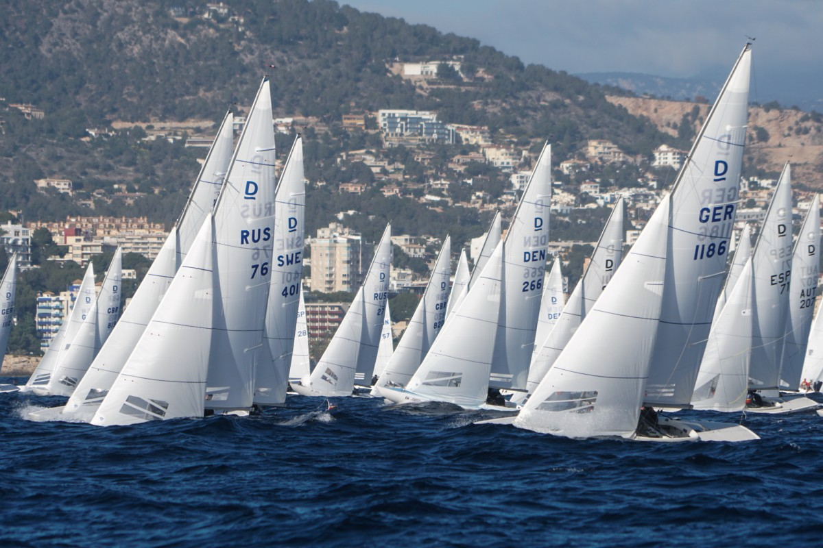 Las III Puerto Portals Dragon Winter Series a merced del viento