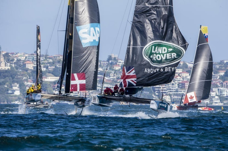 Llegan a Barcelona las Extreme Sailing Series ™