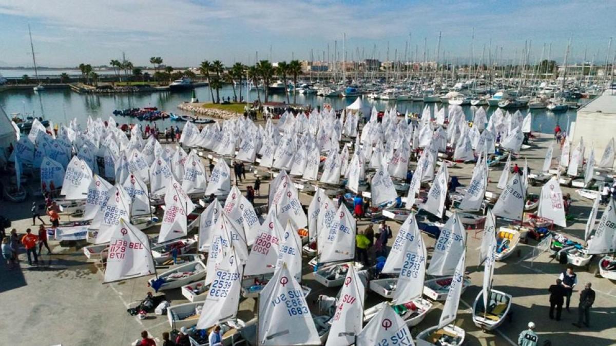 Los 150 mejores Optimist de España se citan en Valencia