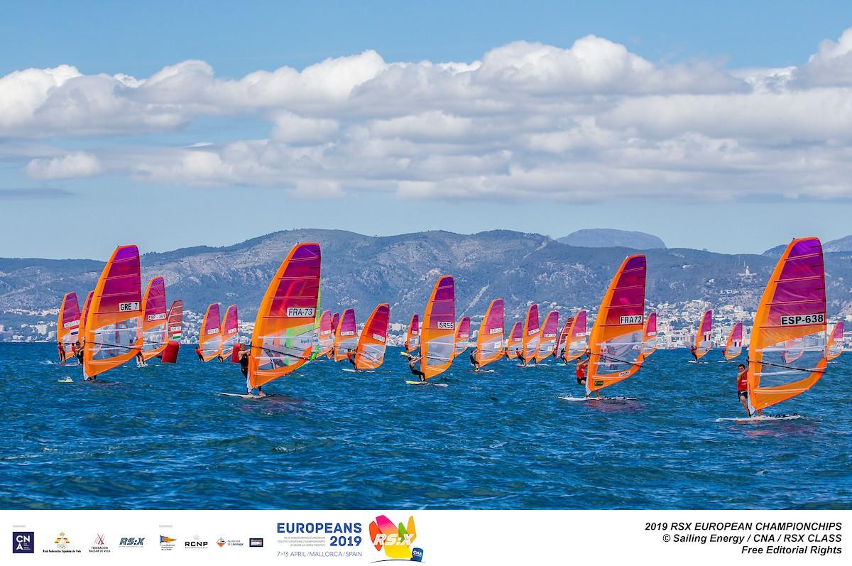Mallorca acoge el Campeonato de Europa de RS:X