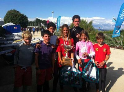 Manuela Huidobro, primera femenina en la Summer International Trophy