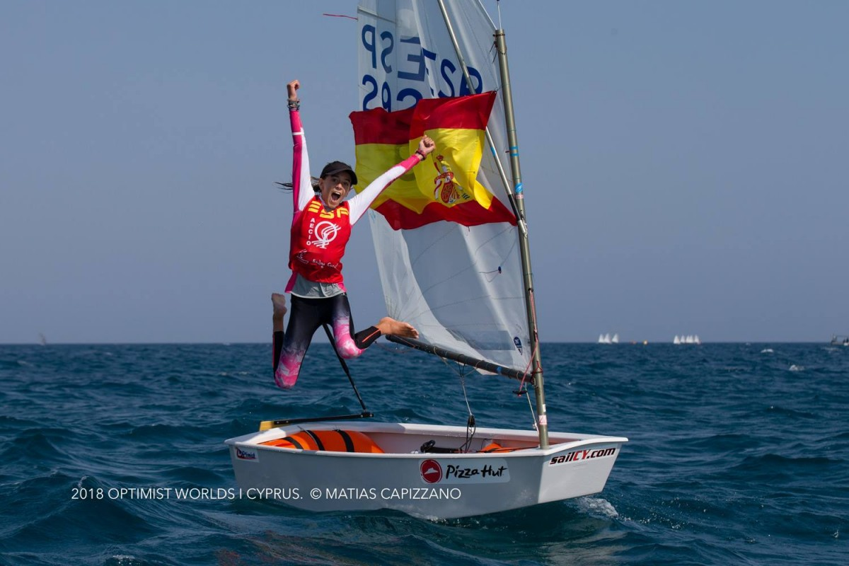 Maria Perelló revalida el título de campeona del mundo
