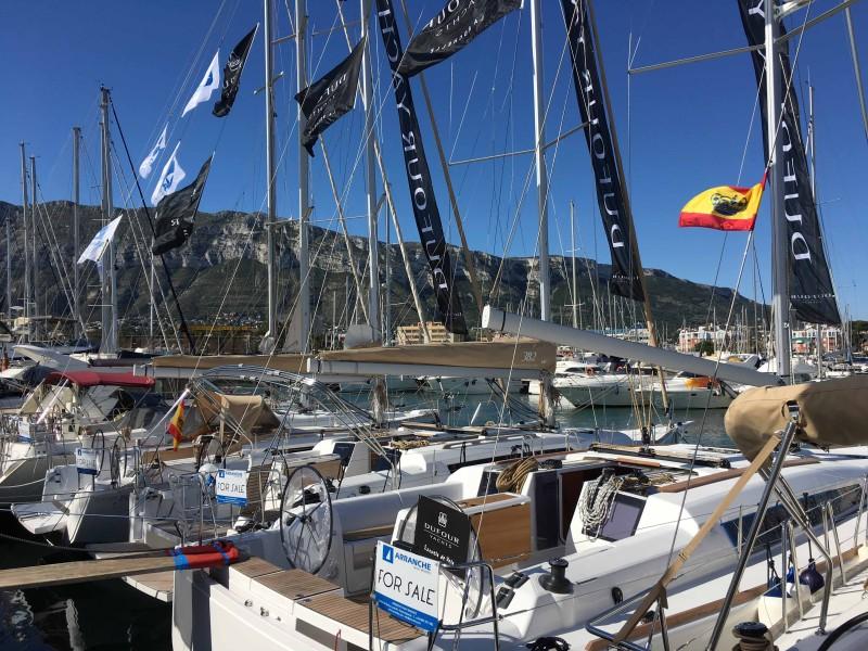 Marina de Dénia acoge el I Clínic Dufour Yachts-North Sails