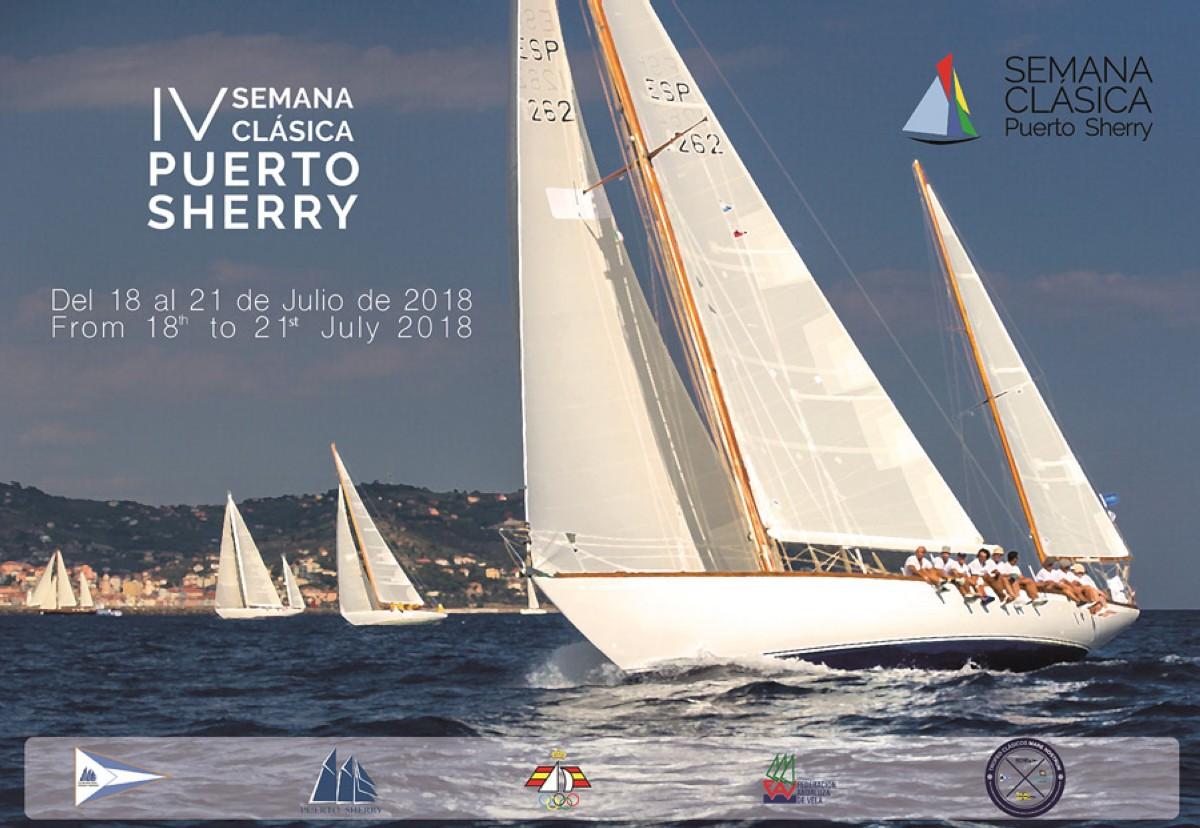 Más de 20 barcos en la IV Semana Clásica de Puerto Sherry