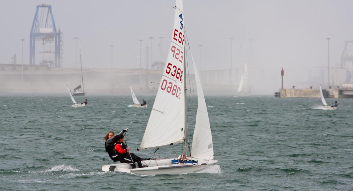 Mucho viento en la jornada final del Trofeo Presidente