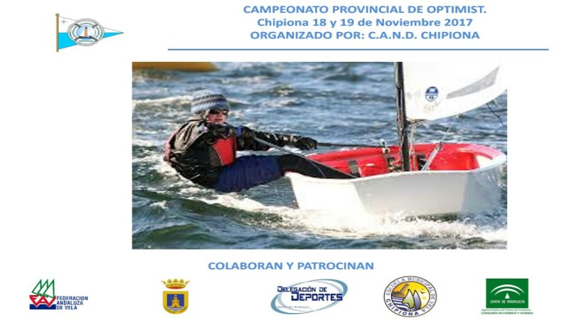 Nueva prueba del Campeonato Provincial de Optimist
