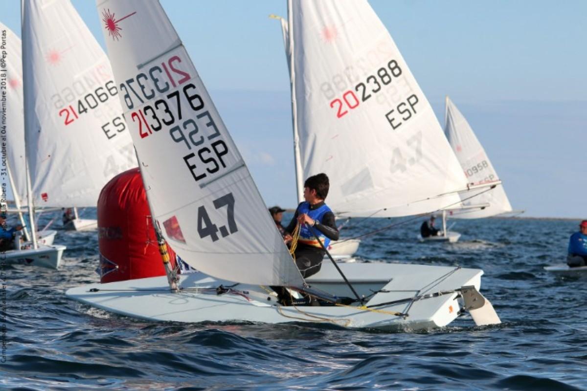 Nuevos campeones de España Laser 4.7