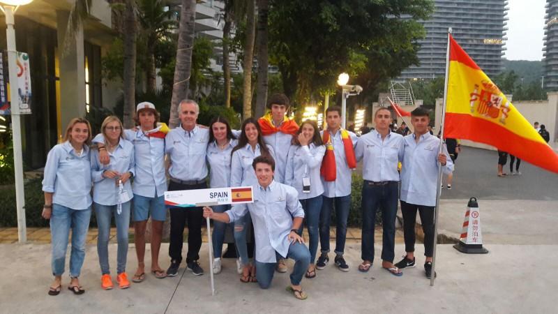 Once españoles en el Youth Sailing World Championship