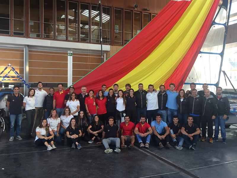 Primera concentración del equipo preolímpico español