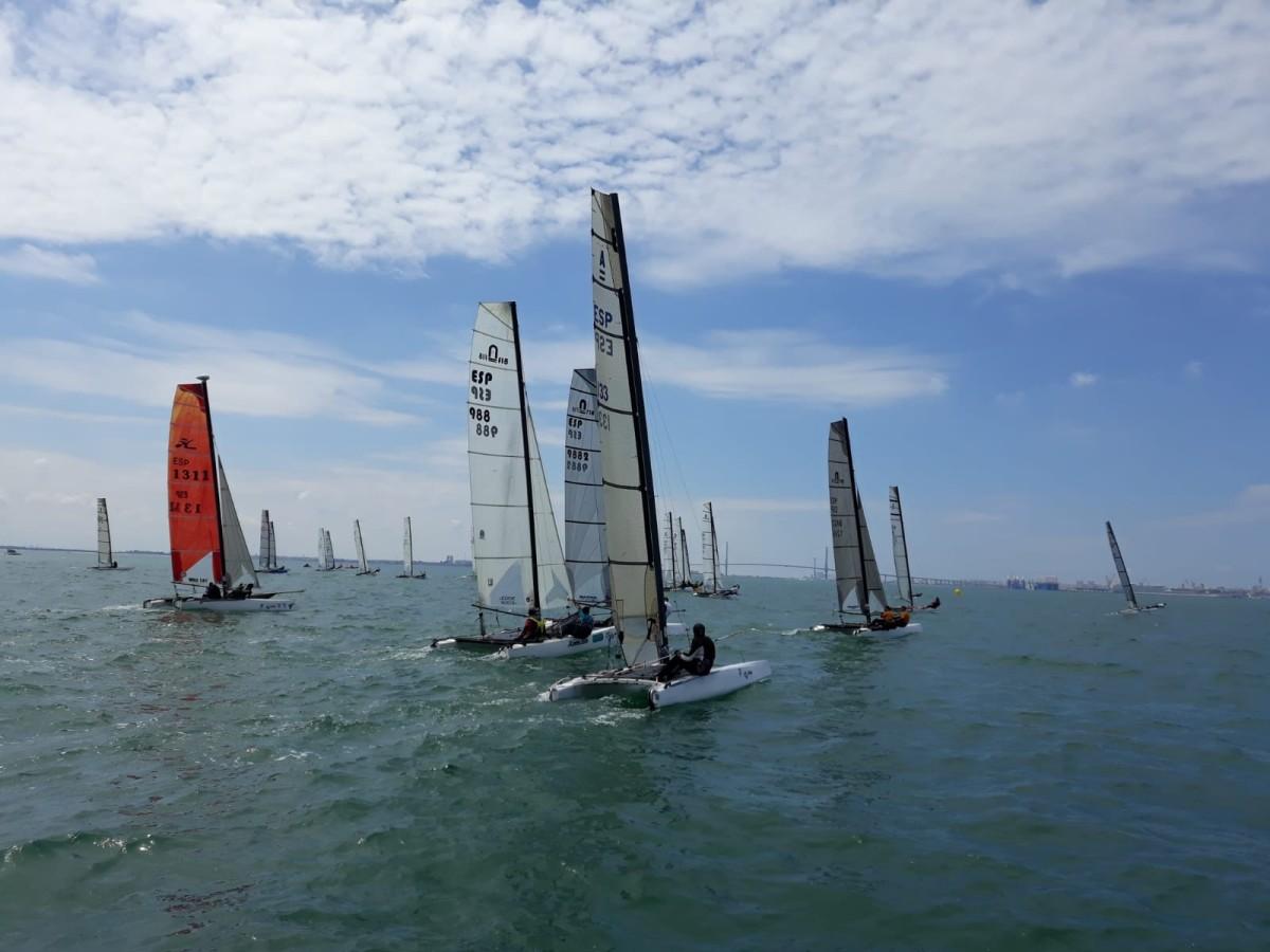 Puerto Sherry en el Campeonato de Europa de Catamarán F18