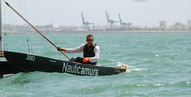 Ramón Calero campeón de Andalucía de Patín a Vela