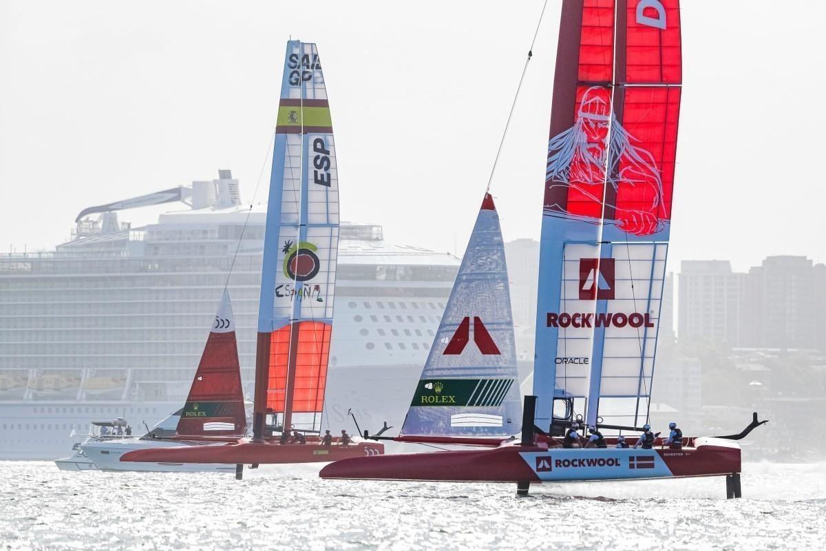 SailGP, el campeonato Internacional Catamaranes en España