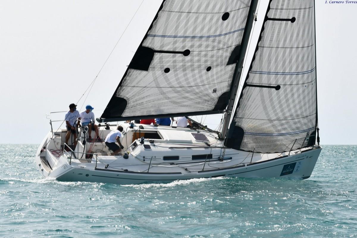 Se celebró la Copa Bahía de Málaga para la clase Crucero