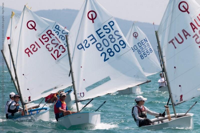 Se cierra el campeonato de Europa de Optimist
