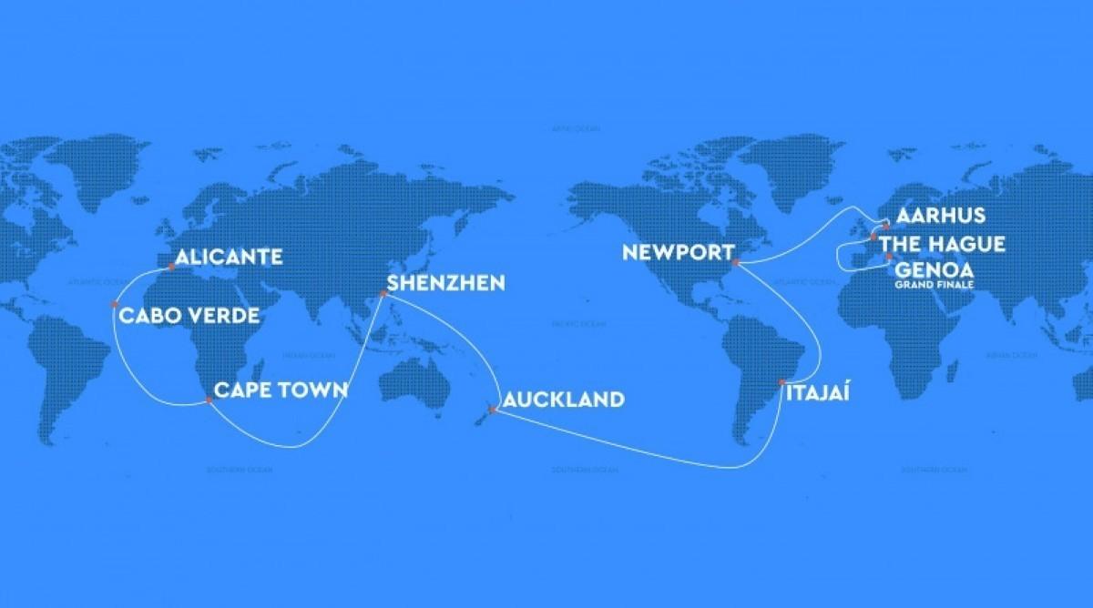 The Ocean Race 2021-22 desvela su ruta