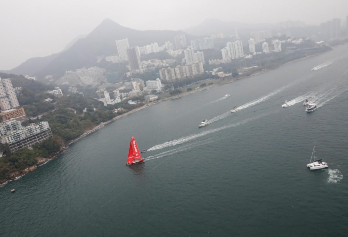 Triunfo para el MAPFRE en la Around Hong Kong Island Race