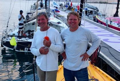 Alex Pella navega en el Défi Atlantique Guadalupe- Horta-La Rochelle